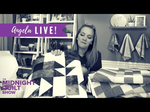 Angela Walters LIVE: Season 5 PREVIEW of Midnight Quilt Show + Quilting FAQs