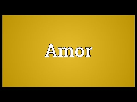 Amor Meaning