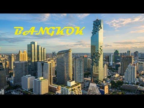 Bangkok Trip : A DRIVE IN BANGKOK CITY (THAILAND)
