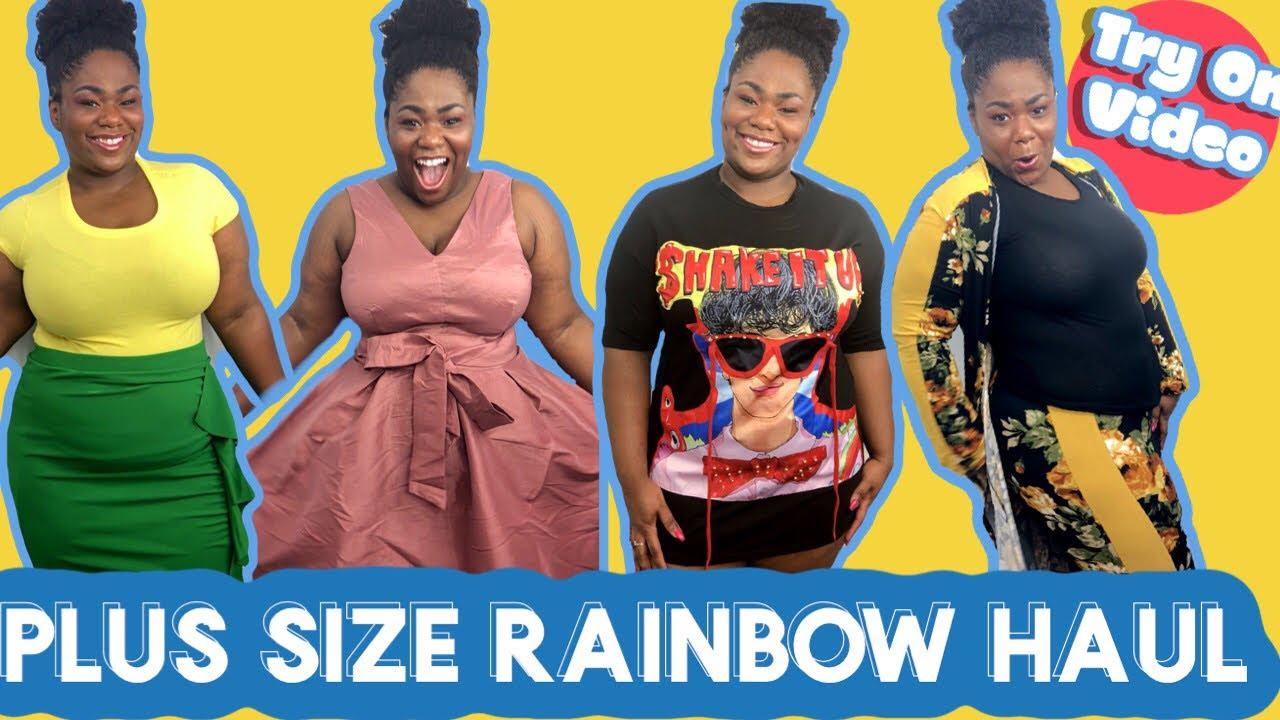 4d9f65289e Rainbow Shops Plus Size Try On Haul