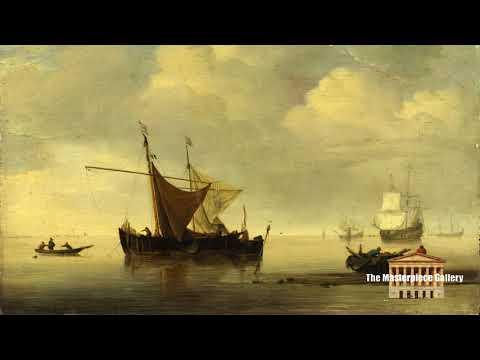 Gallery Paintings with Classical Music- Studio of Willem van de Velde HD