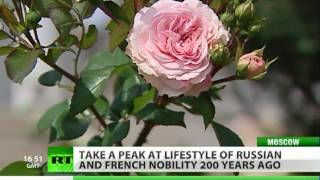Goût de la vie: Lifestyle of Russian and French nobility