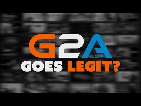 G2A Goes LEGIT? - The Know Game News