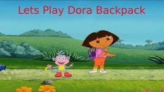 Let`s Play Dora Backpack (Walkthrough)
