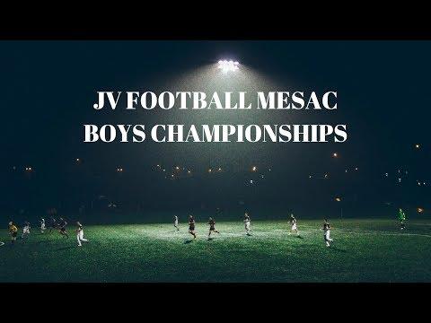 JV MESAC 2018 Boys Championship Game