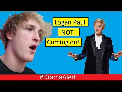 Logan Paul NOT going on The ELLEN SHOW! #DramaAlert Shane Dawson Slides in those DMs! PewDiePie thumbnail