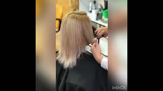 2 УРОВНЯ Женская стрижка КАСКАД Ирина Приступ салон красоты La Familia Семейная парикмахерская