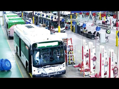 Watch An Electric Bus Being Made