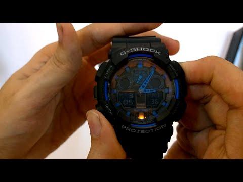 a95ce050e800 Casio g-shock(GA-100-1A2) unboxing - YouTube