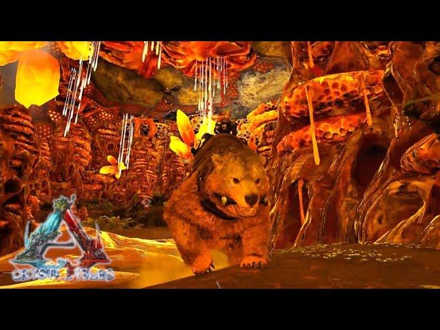 アイズ Ark 洞窟 クリスタル