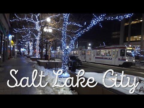 FLEW TO SALT LAKE CITY!! VLOG: 157