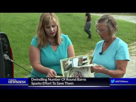 Dwindling Number Of Round Barns Sparks Effort To Save Them
