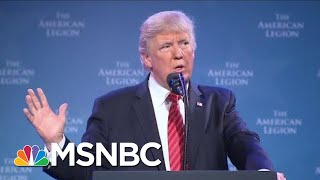 President Donald Trump History, Like Drunk History, Only Not As Smart | All In | MSNBC