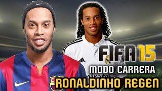 El REGEN de RONALDINHO - Modo Carrera Real Madrid, FIFA 15