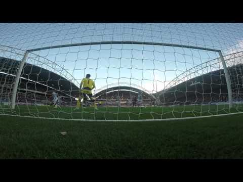 BEHIND THE GOALS | George Thorne Vs Huddersfield Town