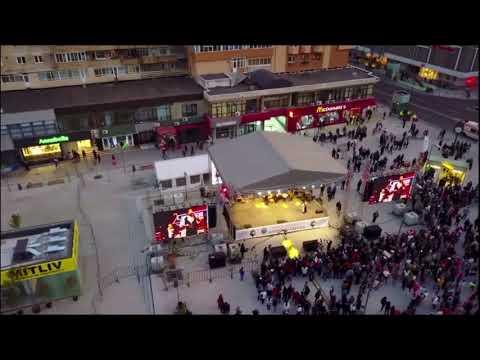 Inaugurare centru Ramnicu Valcea filmare drona