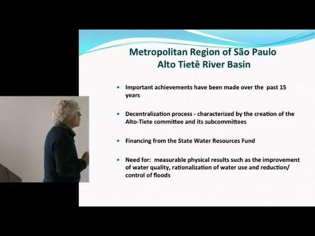 Pedro Roberto Jacobi - Les enjeux environnementaux des métropoles brésiliennes