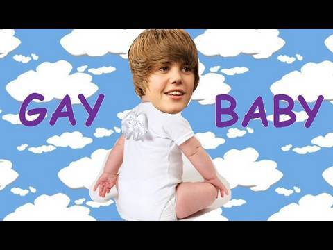 Justin Bieber is a Gay Baby
