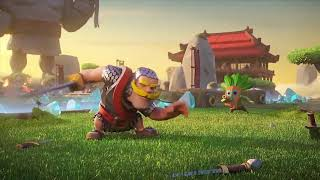 👑Clash Royale-Clash Of Clans 3D Animation Compilation👑