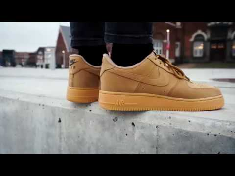 "Nike Air Force 1 Low ""Flax""  e5977fde7"
