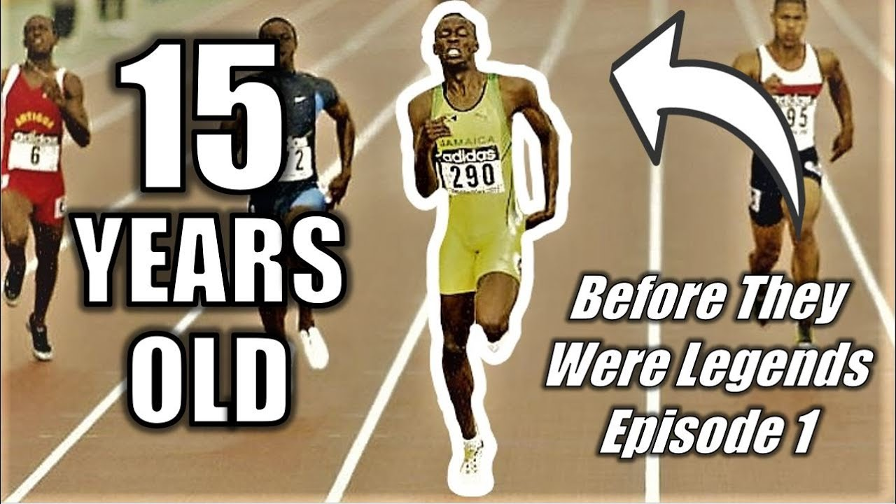 When a 15-YEAR-OLD Usain Bolt SHOCKED the World    Before They Were Legends - Episode 1