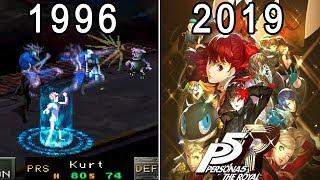 ペルソナ 進化の軌跡 / Evolution of Persona Games 1996 - 2019