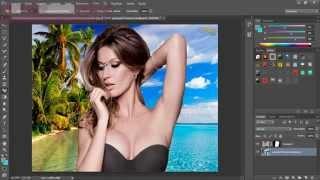 Photoshop- como mudar o fundo de uma imagem