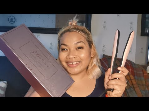 GHD Platinium+ Plus Styler Rose Gold Royal dynasty collection. I'm Sugar