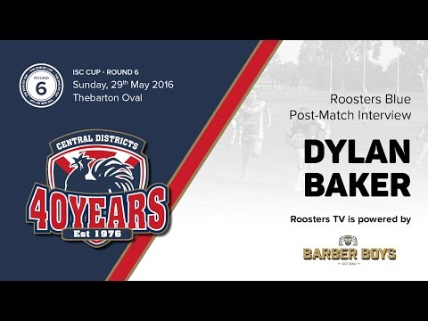 ROOSTER'S TV: Post-match interview with Dylan Baker (Roosters Blue)