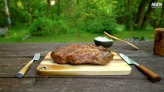 Italian Chianina Steak with Herb Butter