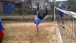Sepak takraw ampalu pariaman sumatera barat