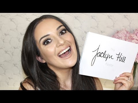 Jaclyn Hill x Morphe Palette | First Impression + Swatches + Review