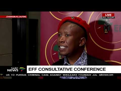 Malema reacts to