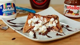 Nutella S'mores French Toast: Breakfast Just Got S'more Better