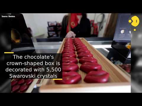 Portuguese chocolate fair displays world's priciest sweet marvels