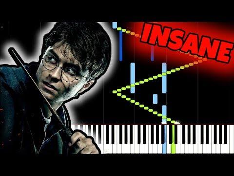 Harry Potter [INSANE Piano Tutorial] (Synthesia) //Jarrod Radnich