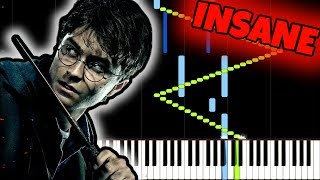 Harry Potter [INSANE Piano Tutorial] (Synthesia) //Jarrod Radnich