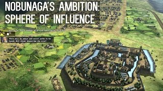 NOBUNAGA'S AMBITION: Sphere of Influence [Gameplay, PC]
