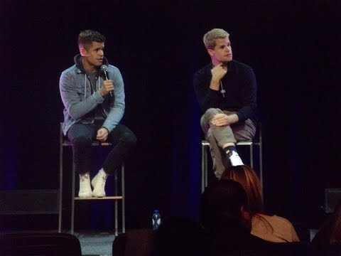 WereWolf Con III  Max & Charlie Carver Q&A  Awkward Moments with
