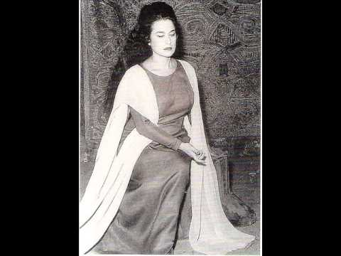 Leyla Gencer With Her Trademark Pianissimi From Various Operas