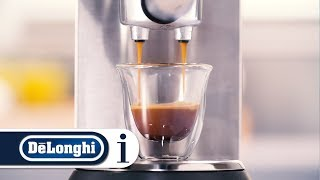 How to make an espresso using ground coffee on your Dedica Pump Coffee Maker EC680 and EC685