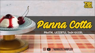 Panna Cotta Tarifi ( jelatinsiz ), Pratik, Tatlı Tarifi, Yemek Tarifi, panna cotta recipe