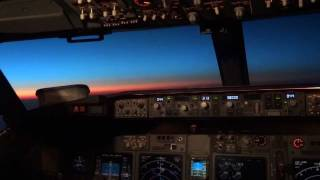 HD Cockpit Scenes - 40000ft above the Earth