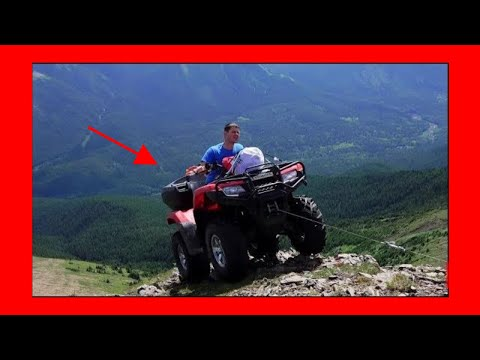 Quading in the mountains kakwa falls Canada Alberta  and lost the Drone part 1