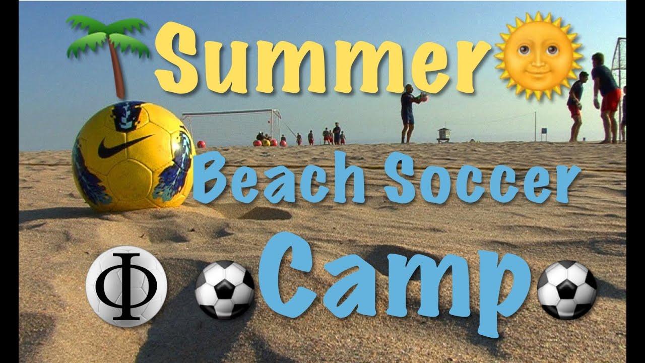 Summer Beach Soccer Camp - YouTube