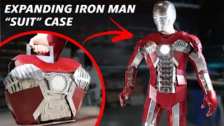Real Iron Man Expandable Briefcase Suit - FULL METAL!! (Iron Man Mark 5 Armor)