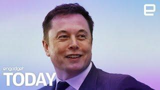 Elon Musk's public diss of Mark Zuckerberg   Engadget Today
