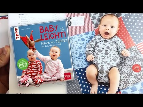 """Blick ins 2. Buch """"NÄHEN MIT JERSEY - babyleicht!"""" - zusammen mit ..."""