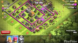 Lets play clash of clans part 2 raiding for elixir
