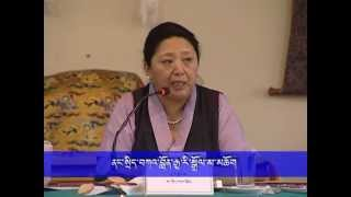 8th Tibetan Settlement Head Meeting_Closing Ceremony